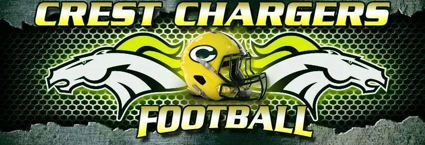 Crest Chargers Football