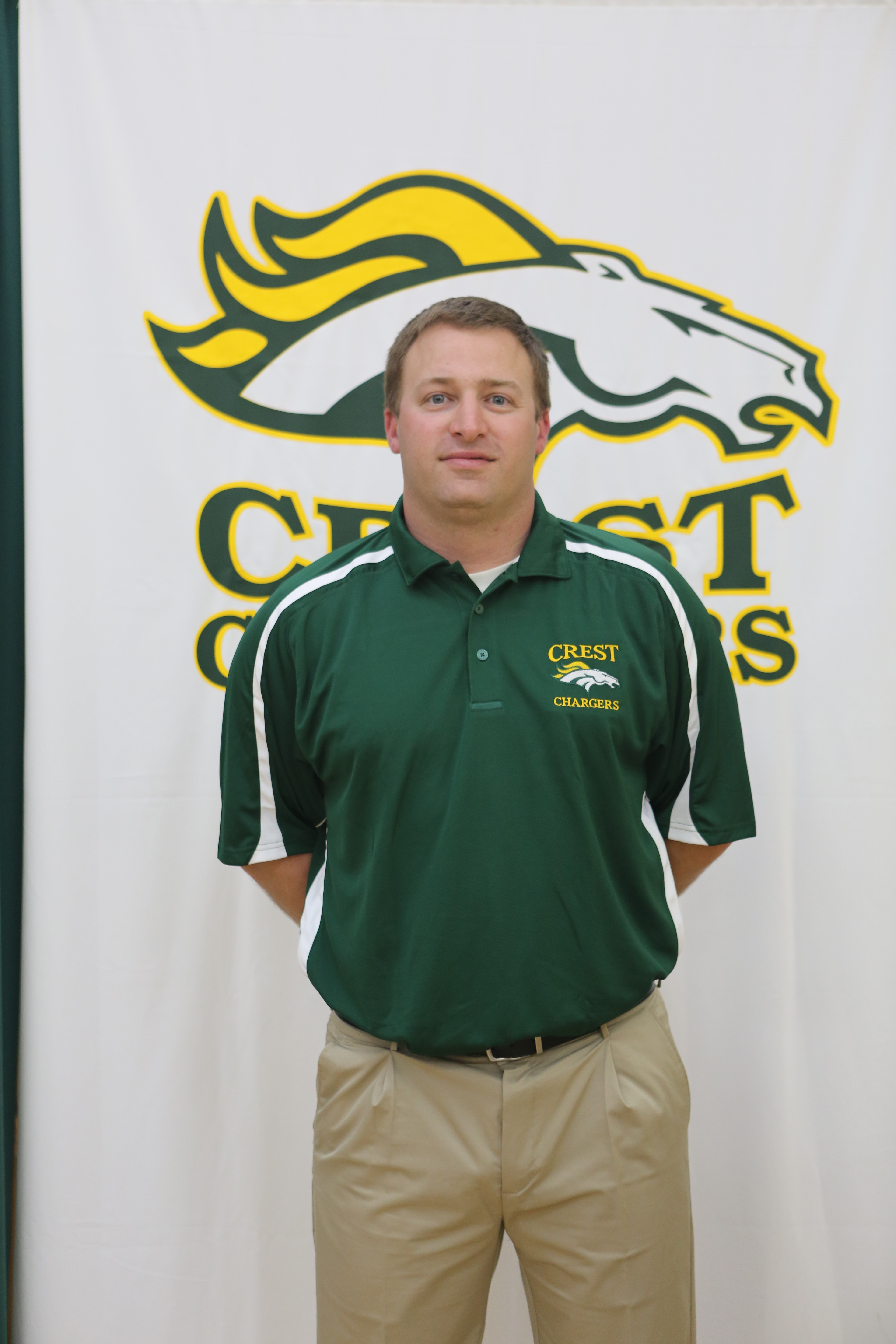 New Coach Will Clark takes over as head coach of the 2015 Crest Chargers