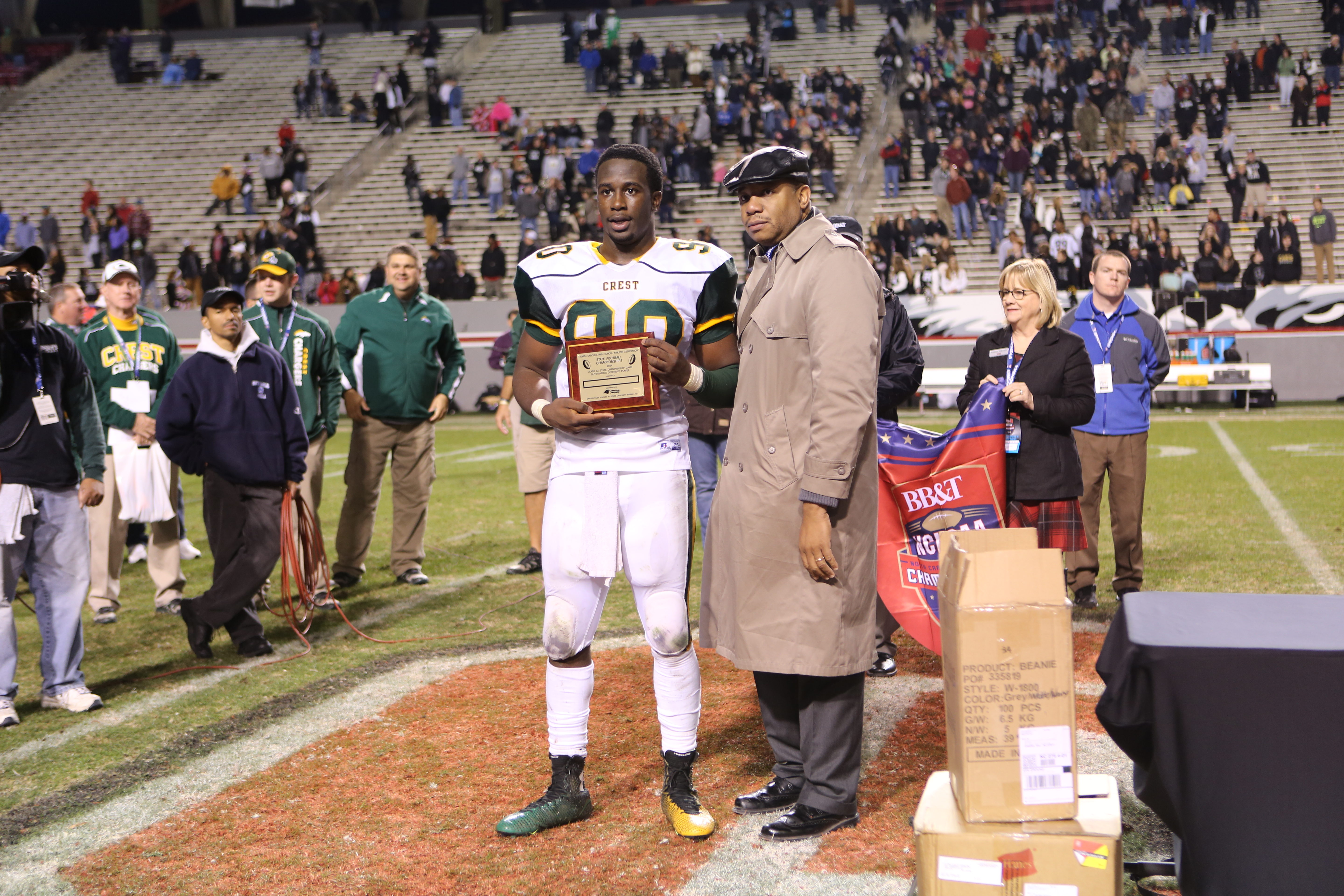 3A State Championship Most Outstanding Defensive Player